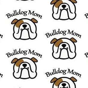 English Bulldog Mom