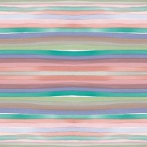 Water colour stripes
