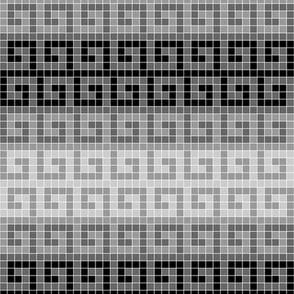 05698096 : greek mosaic stripe : D