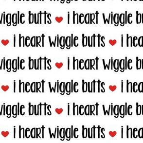 I love dogs! AKA: I heart wiggle butts - dog lover fabric