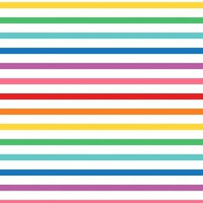 XL rainbow stripes 1 horizontal