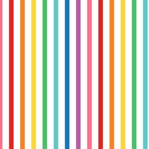 XL rainbow stripes 1 vertical