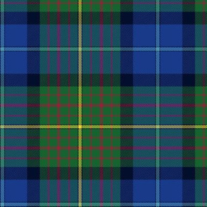 California state official tartan, 6""
