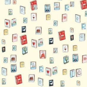 Lucy's Tiny Library (Cream)