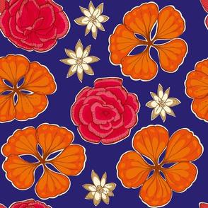 Autumn Carnations