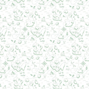 treasure_map_pattern_spoon_150_green