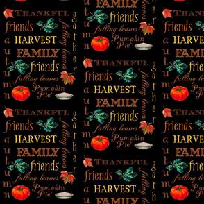 Thanksgiving Harvest Text
