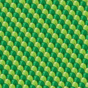 Pixelated Green Dragon Scales