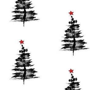 Ink-sketch-Christmas-tree