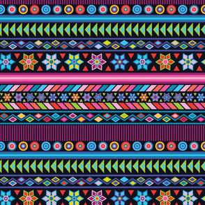 Black Peruvian Stripe
