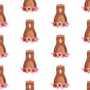 Fun Rustic Girl Bear