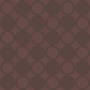 Circles In Brown