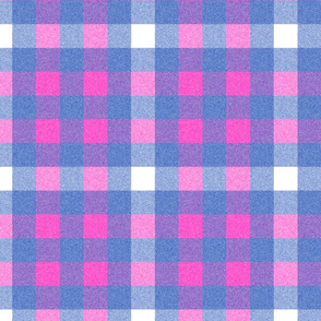 Emily Haddyr Presents Royal Dog Party ~ Scottie Plaid Flannel Base ~ Comtesse and Nelson