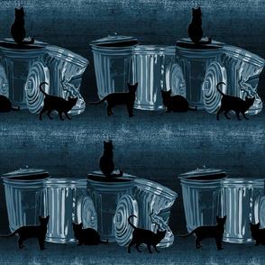 Trash cats