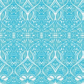 Roots and Blubs (cyan/white)