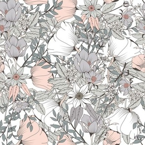 Botanical Pattern 016