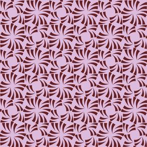 Geometric Floral - Rose