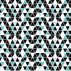 geo joe no.1 tribal aztec triangle geometric modern pattern