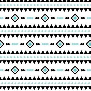 geo joe no.5 tribal aztec triangle geometric modern pattern