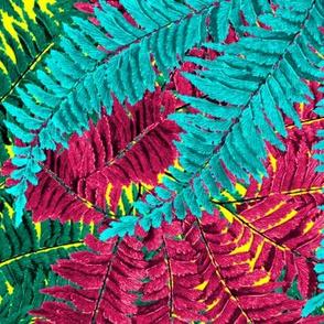 Tropical Fern ~ Jungle Day Dream on La!