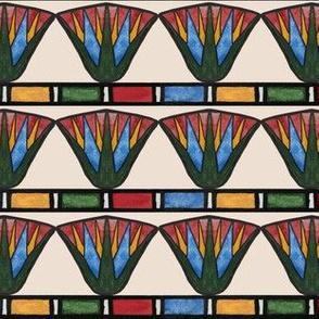 Egyptian Lotuses (colorblock)
