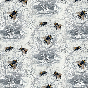 Humble Bee Honey Bee Floral Flowers