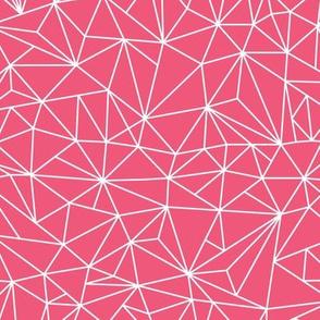 geo jane no.2 hot pink