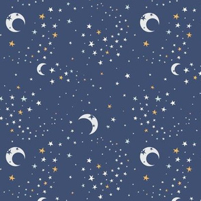 Celestial Dreams - Navy