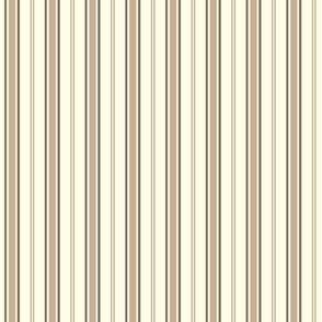 Puppet Parade STRIPE TAN YELLOW ©Julee Wood
