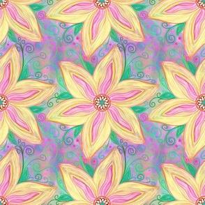 Project 41 |   Floral | Golden Poinsettia