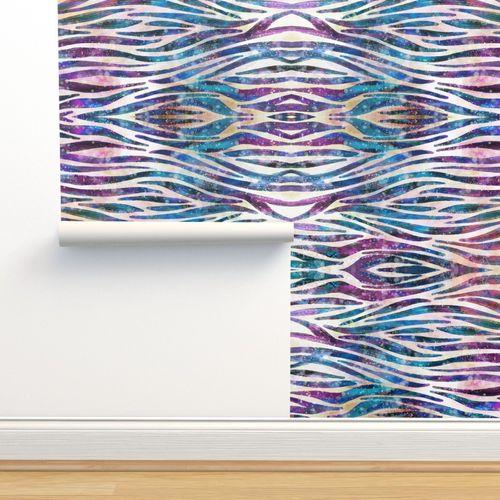 Wallpaper Zebra Print Watercolor Animal Print Water Color Watercolor Stripes