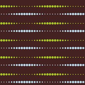 Dissolving Dots - Blue Green