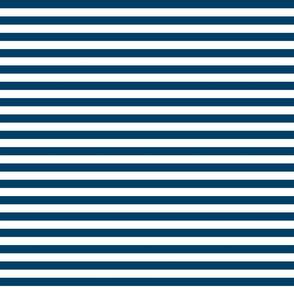stripes denim blue