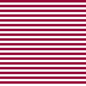 stripes merlot red