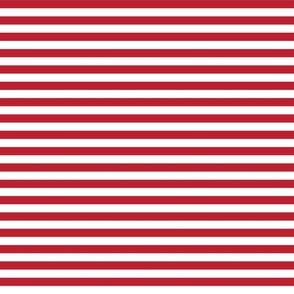 stripes crimson red