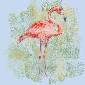 Flamingo for Pillow