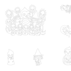 Embroidery Patterns Halloween