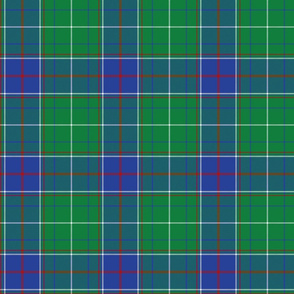 """Tennessee official state tartan, 6"""" bright"""