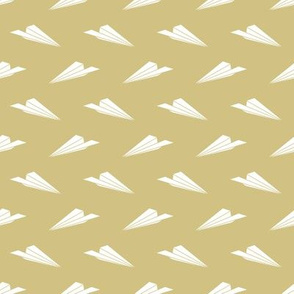 Papaer Airplanes (Gold)