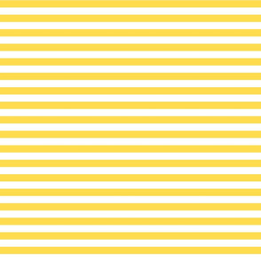 stripes butter yellow