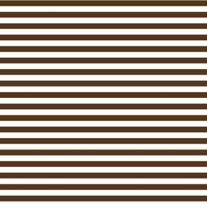 stripes mocha brown