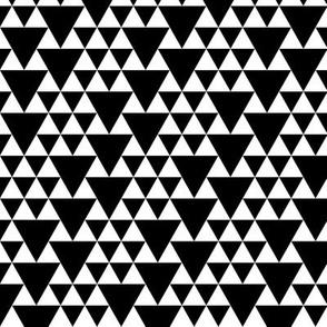 geo joe no.9 tribal aztec triangle geometric modern pattern