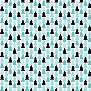 geo joe no.11 trees tribal aztec triangle geometric modern pattern