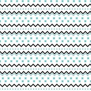 geo joe no.12 tribal aztec triangle geometric modern pattern