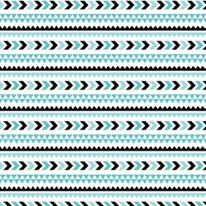 geo joe no.13 tribal aztec triangle geometric modern pattern
