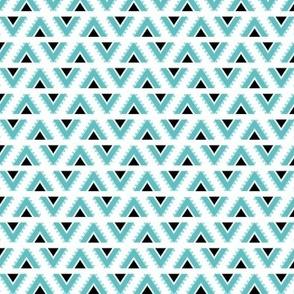 geo joe no.14 tribal aztec triangle geometric modern pattern