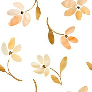 Indy Bloom Gold Autumn Florals