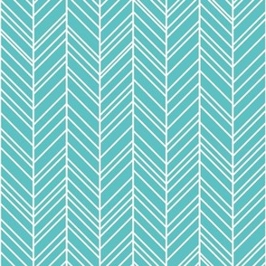 geo joe no.16 rev herringbone teal tribal aztec geometric modern pattern