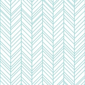 geo joe no.17 herringbone light teal tribal aztec geometric modern pattern