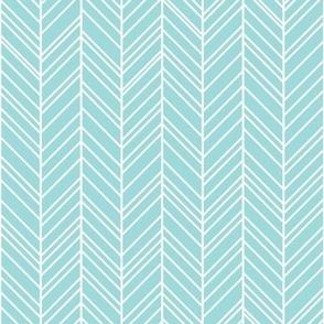 geo joe no.17 rev herringbone light teal tribal aztec geometric modern pattern